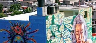 Sozialer Wandel: Streetart in Mexiko - Mit Farbe gegen Gewalt