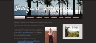 Reisejournalistin Helgard Below - Reisereportagen & Fotos aus aller Welt