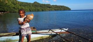 Papua-Neuguinea: Mantas, Feuertänze und deutsche Ruinen