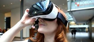 Samsung Gear VR: Mit dem Smartphone in virutelle Welt abtauchen