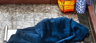 """Verachtetes """"Freiwild"""": Obdachlose werden brutal attackiert"""
