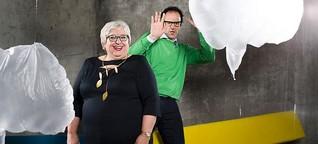 Vince Ebert und Sabine Asgodom geben Praxistipps für Reden