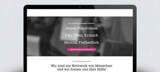 Schmalbart: Wie ein Netzwerk die Debattenkultur retten will