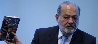 Mexiko gegen Donald Trump: Carlos Slim erteilt Trump Ratschläge