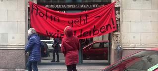 Protest - Gekommen, damit Holm bleibt