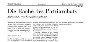 Die Rache des Patriarchats