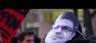 #HolmBleibt: Hunderte demonstrieren in Berlin für Andrej Holm und soziale Mietpolitik