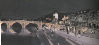 Stadt, Tunnel, Fluss