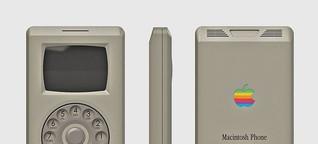 Apple Macintosh Phone : Das iPhone im 80er-Look