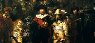 """375 Jahre """"Die Nachtwache"""" - Als Rembrandt Bewegung ins Bild brachte"""