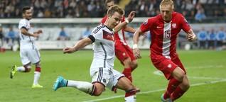 EM-Qualifikation: GER vs POL - Fußball   STERN.de