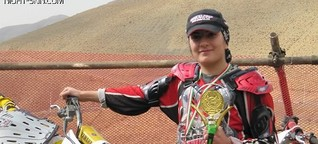 "Motocross Star Returns to Iran: ""I want to help women"""