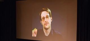 Snowden: Massenüberwachung verhindert keinen Terrorismus