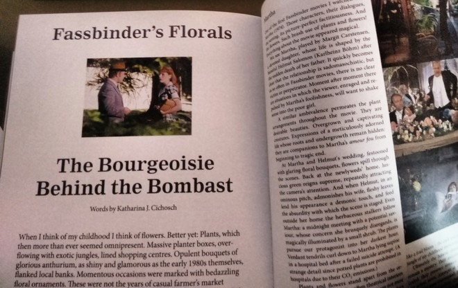 Fassbinder's Florals / The Bourgeoisie Behind the Bombast