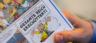 """36. Asterix-Band """"Der Papyrus des Cäsar"""": Gastauftritt von Julian Assange"""