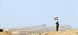 Ist es Wahnsinn, für Frieden nach Syrien zu laufen?
