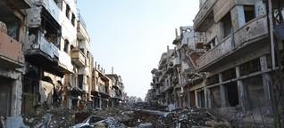 """Homs sieht aus wie Berlin 1945"""