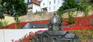Der Garten des Gedenkens in Marburg an der Lahn