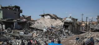 """Protokolle aus umkämpfter Stadt: """"Unser Leben hier in Mossul ist nichts wert"""""""