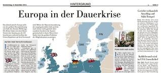 Europa in der Dauerkrise