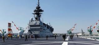 """Hubschrauber-Träger """"Kaga"""": Japans neue Faust im Inselstreit"""