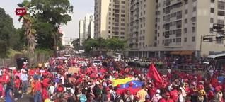 SRF 10vor10: Venezuela versinkt im Chaos