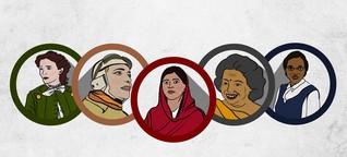Hier sind fünf Frauen, die richtig was gerissen haben