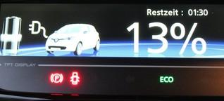 Im Elektro-Auto zur Ostsee: Hab mein Wagen vollgeladen