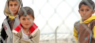 Neben IS-Terror wird der Winter zum neuen Feind für Flüchtlinge im Irak