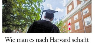 Wie man es nach Harvard schafft
