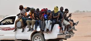 Europa verschiebt seine Außengrenze nach Afrika