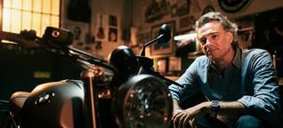 """Roberto Parodi: """"Meine Inspiration verdanke ich dem Motorradfahren"""""""