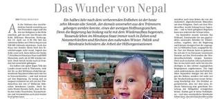 Das Wunder von Nepal