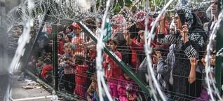 360°-Video: Das Flüchtlingslager Horgoš - Schandfleck der EU-Außengrenze