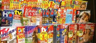 TV-Zeitungen im digitalen Zeitalter: Das Internet zum Ausdrucken