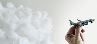 Lufthansa-Piloten hängen nach ihrer Ausbildung in der Luft