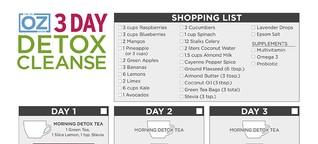 Dr Oz 3 Days Cleanse Detox Smoothie, Breakfast, Lunch, Dinner, Avocado, Vanilla,