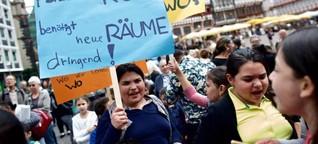 Frankfurt-Nordend: Räume für Roma