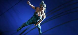Cirque du Soleil in Frankfurt: Halsbrecherische Akrobatik