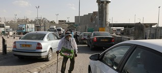 Israel und Palästina: Zehn Kilometer Niemandsland
