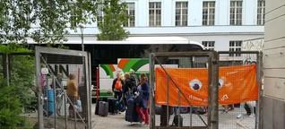 Ankommen im Gästequartier - so übernachten die Gäste des Kirchentages - Audioslideshow für kirchentag.de