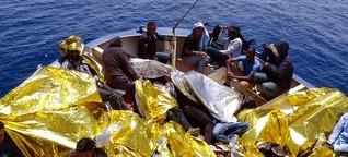 "NGO-Vertreter am Mittelmeer: ""Jemand muss den Wahnsinn hier draußen beenden"""