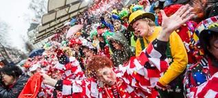 Wo Karneval draufsteht, darf kein Schlager drinstecken