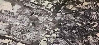 IS sprengt Moschee in der Baghdadi das Kalifat ausgerufen hatte