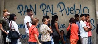 Knappe Lebensmittel, hohe Schulden: Venezuela droht der Kollaps - SPIEGEL ONLINE - Wirtschaft