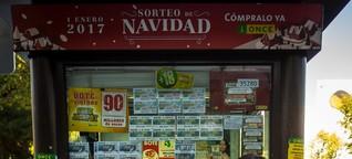 Ich verkaufe Lose für die spanische Blindenlotterie