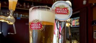 Streit um Bier-Gläser: Geriffelt schmeckt es Belgiern besser