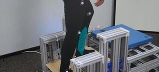 Forscher entwickeln Treppenhilfe mit beweglichen Stufen