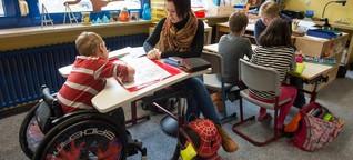 Inklusion in der Schule: Ein Fahrstuhl, ein Raum, eine Kollegin