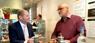 Integrationsprojekt in Eimsbüttel: Olaf Scholz besucht das Salibaba